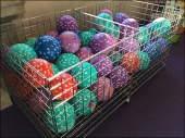 Touch Me Balls in Bins 1