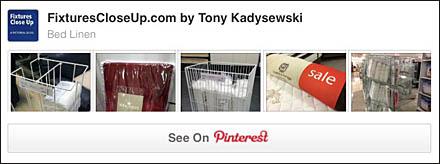 Bed Linen FixturesCloseUp Pinterest Board