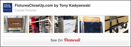 Carpet Merchandising FixturesCloseUp Pinterest Board