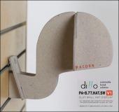 Ditto Sustainable Slatwall Headform 1