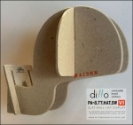 Ditto Sustainable Slatwall Headform 2