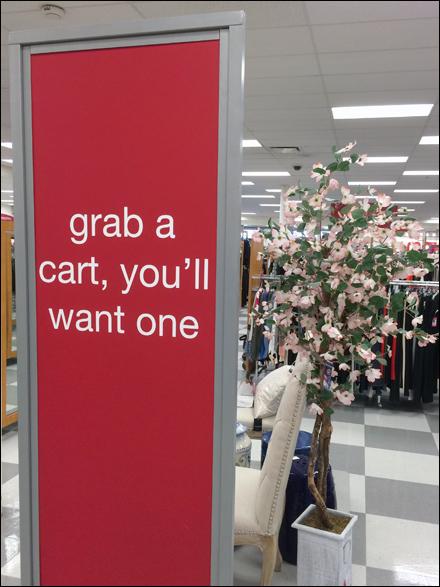 Grab a Cart You'll Want One Main