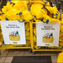 IKEA Borrow a Big Yellow Bag Main