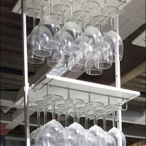 IKEA Ceiling Hung Glassware 3