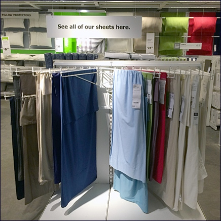 IKEA Linen Display Arms 1