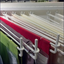 IKEA Linen Display Arms 2