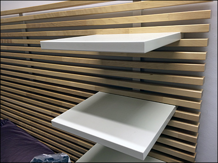 D I Y Slats Create Ikea Slatwall Fixtures Close Up