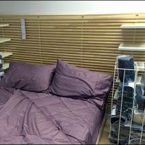 IKEA Slatwall Headboard Main
