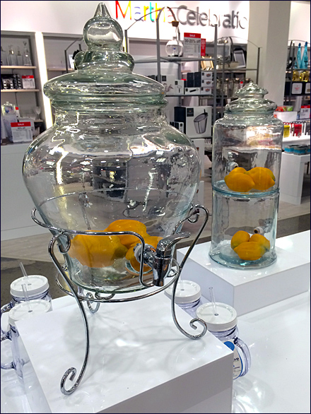 Lemon Food Props in Glass Twin