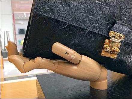 Louis Vuitton Hand Redux CloseUp