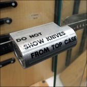 Magnetic Knife Display Lock Main