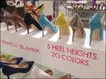 Manolo Blahnik 5 Heights 20 Color Shoes 2