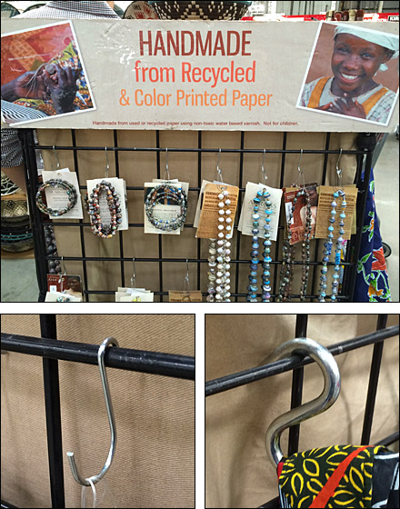 Recycled + Supports Displaced