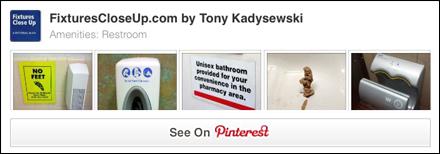 Restroom Amenities FixturesCloseUp Pinterest Board