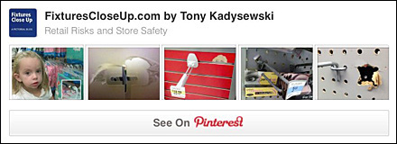 Retail Risk and Store Safety Pinterest Board