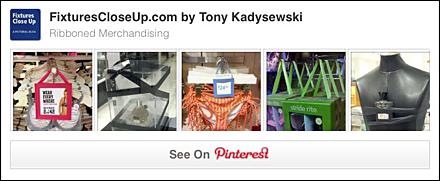 Ribbon Merchandised FixturesCloseUp Pinterest Board