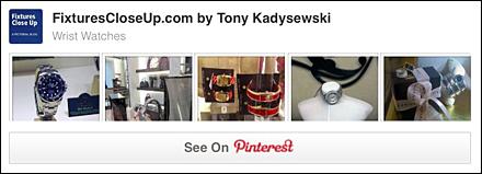 Wrist Watch Merchandising and Fixtures Pinterest Board