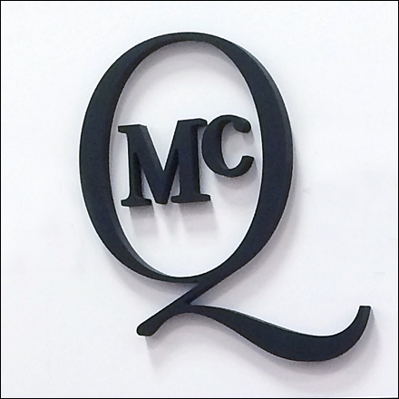 Alexander McQueen Logotype Shorthand Detail
