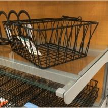 Brace Supported Glass Shelf 2