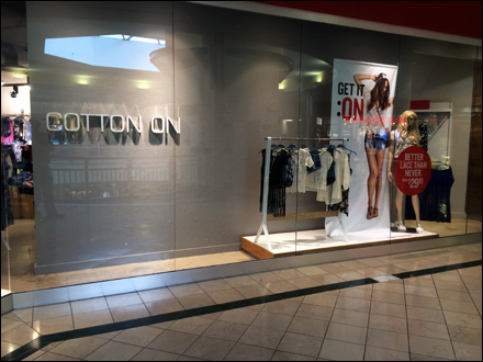Cotton On Store Entry Branding Aux