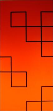 DashWall Slatwall Patterns in Red