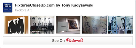 In-Store Art Pinterest Board for Fixtures Close Up