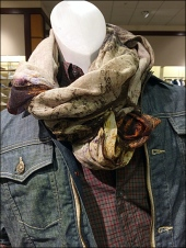 Men's Scarf Tie for Jean Jacket 2