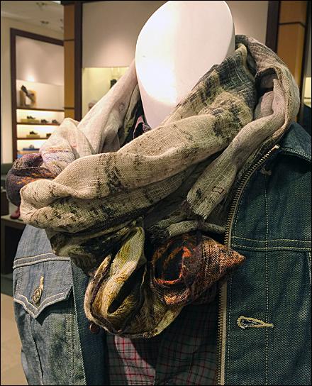 Men's Scarf Tie for Jean Jacket Main