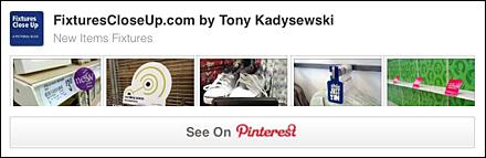 New Item Fixtures Pinterest Board