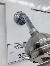 Shower Head on Slatwall 1