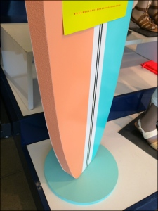 Surfing Styrofoam at Old Navy Detail