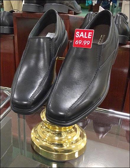 Bostonian Shoe Micro Sale Tag Main