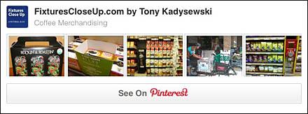 Coffee Merchandising Pinterest Board