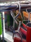 Cookware Hang Rod J-Hook Display Detail Main