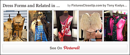 Dress Form FixturesCloseUp Pinterest Boards