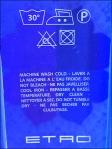 Etro iPhone Laundry Instructions CloseUp