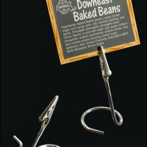 FFr Stainless Steel Alligator Card Clip