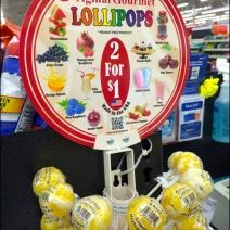 Gourmet Lollipops Front View