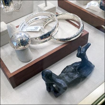Jewelry Primative Sculpture