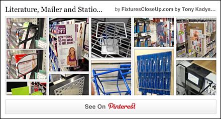 Literature Holder FixturesCloseUp Pinterest Board
