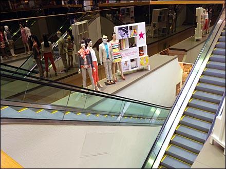 Macys Mannequins on a Ledge Main1
