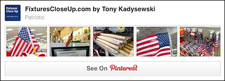 Patriotic FixturesCloseUp Pinterest Board