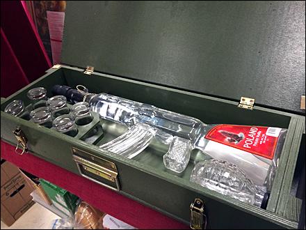 Polish Vodka AK-47 Ammunition Crate Main