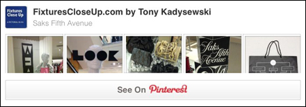 Saks Fifth Avenue Pinterest Board