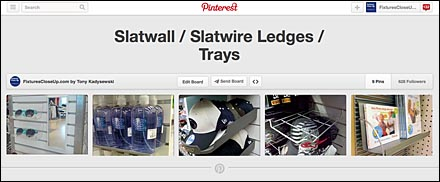 Slatwall-Slatwire Ledges-Trays