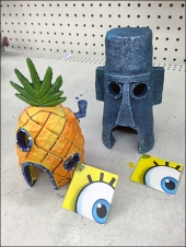 Sponge Bob Aquarium Accessories Main