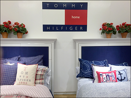 Tommy Hiulfiger Home Departmental Branding