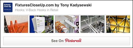 V-Back Hooks Pinterest Board
