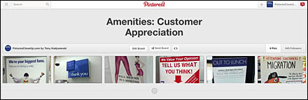 Amenities_ Customer Appreciation and Outreach on Pinterest