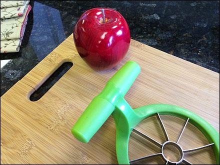 Apple Corer Food Prop Detail